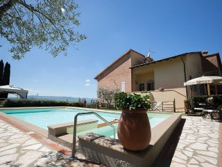 4 bedroom Villa in Montaione, Tuscany, Italy : ref 5386568