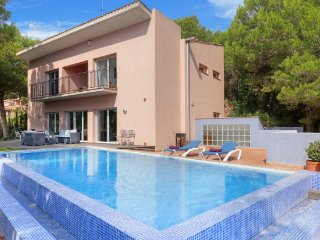 Tamariu Villa Sleeps 6 with Pool and Air Con - 5246729