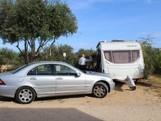 Piazzola standard per caravan