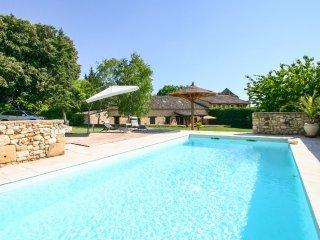 5 bedroom Villa in Monsac, Nouvelle-Aquitaine, France : ref 5049664