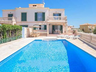 5 bedroom Villa in Portocolom, Balearic Islands, Spain : ref 5000867