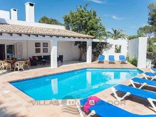 4 bedroom Villa in Cala d'Or, Balearic Islands, Spain : ref 5000798