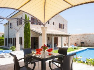 5 bedroom Villa in es Llombards, Balearic Islands, Spain : ref 5000770