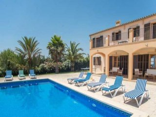 6 bedroom Villa in Palma de Mallorca, Balearic Islands, Spain : ref 5000760