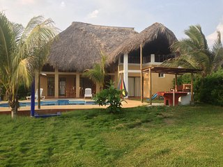 Beach Villa on the Pacific Coast of Guatemala