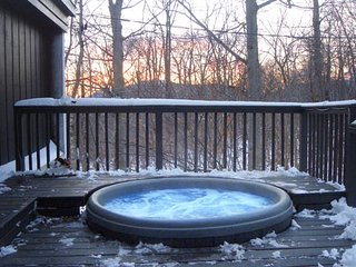 5 STAR HOME W/HOT TUB! SKI BROMLEY STRATTON MAGIC!