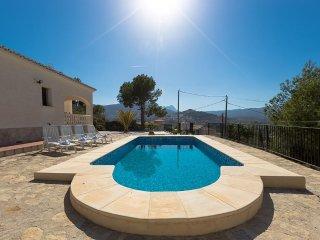 Villa Andre en Calp,Alicante para 8 huespedes