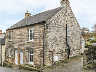 GREYSTONES COTTAGE, wood burner, over three floors, pet friendly, in Eyam, Ref