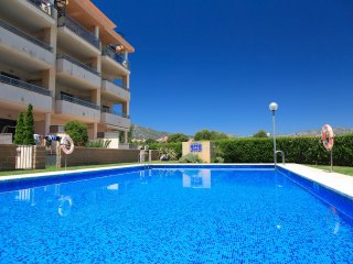 UHC OLIVERES 131: Lovely apartment, close to the beach and harbour of Hospitalet