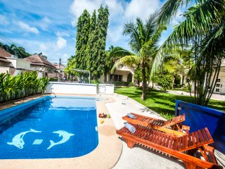 Pool & Tropical Garden view House, 2 bedrooms