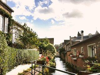 Belle maison bordée par la Veules : charme, confort... et mer à 200 m !