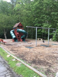 Children's playground within easy walking distance within Outdoor Resorts