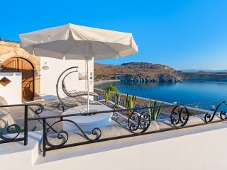 Lindos Shore Boutique Villa with panoramic sea view