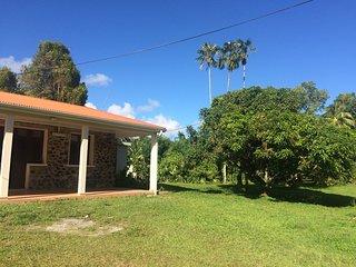 Maison familiale, au coeur de la Martinique
