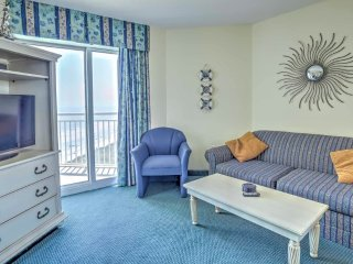 Ocean Front Condo w/Amazing View in N Myrtle Beach