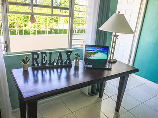 Excellent for business travelers.  Surf away on the high speed Wi-Fi and  feel right at home.