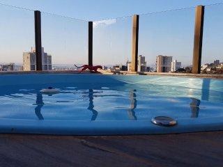 Cobertura 3qtos luxo conforto piscina linda vista melhor ponto de BH