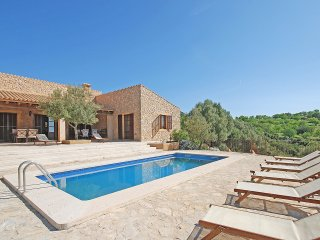 VILLA WITH PRETTY STONE FACADE AND PRIVATE POOL