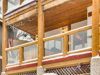 Krystalline Chalet A is a family two bedroom, one bathroom, Private hot tub.