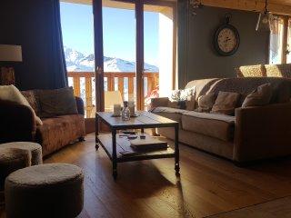appartement calme et cosy dans chalet .