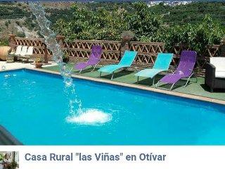 Casa Rural Las viñas con buenas vistas y tranquila