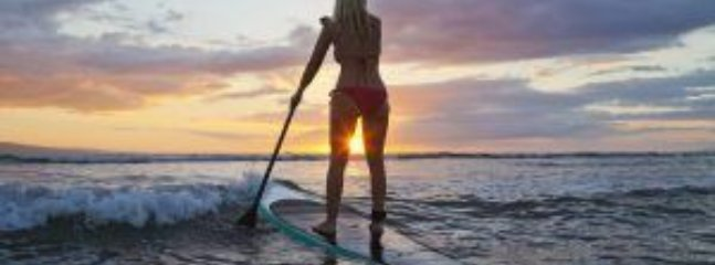 Paddle off into the sunset - but come back by dark please!