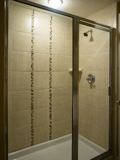 Shower in master