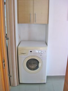 2nd floor - the washing machine of the house