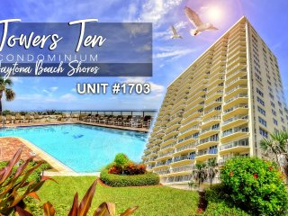 Towers Ten Condo - Oceanfront - 3BR/3BA - #1703
