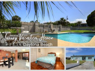 Luxury Pool Home - w/RV Port - Oceanview- Steps From The Beach 3BR/2BA- #2836
