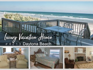Luxury Vacation Home - Direct Oceanfront - 3BR/3BA - #4213