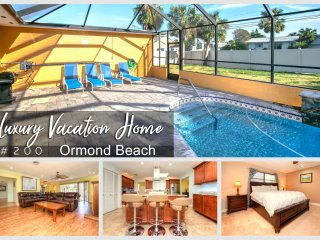 Luxury Pool Home - Steps To The Beach - 4BR/3BA #200