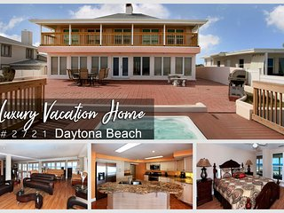 Luxury Heated Pool Home w/ Jacuzzi - Oceanfront - 6BR/6BA - #2721