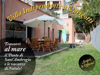 Villa Giglio, a 50mt dal mare Codice CITRA 009029-LT-0445