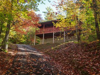 Nestled in the woods yet convenient to Gatlinburg and Pigeon Forge.