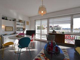 Biarritz appartement T2 labellise Gite de France, residence renovee.