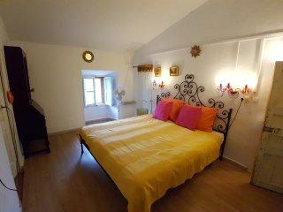 Doppelzimmer Leopoldo auf der Finca Can Corem Campos nahe Es Trenc, AC