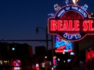 Walk to Beale St. only 3 blocks from condo.