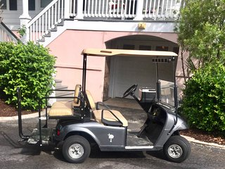 GOLF CART and KAYAKS withnCONDO RENTAL!