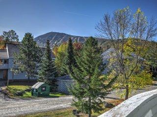 Ski-in/Ski-out Sugarloaf Mountain Resort Condo!