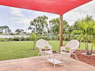 Charming Port St. Lucie Home w/ Large Private Yard