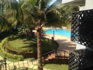 Beautiful Pool view apartment 2102 in Riviera Foothills near Baga/Anjuna