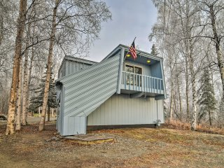 NEW! 1BR Apartment in Wasilla w/ Scenic Mtn Views!