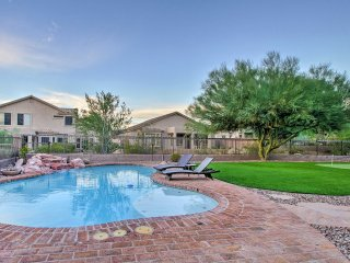 NEW! Huge 5BR Mesa House w/ Pool & Putting Green!