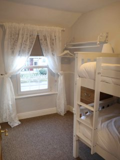 Bunk Bed room, with front aspect