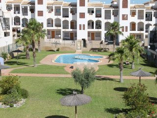 A lovely first floor apartment overlooking the pool in La Cinuelica R14
