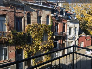 Enchanting - European Quarter Apt, Brussels-1BR1BT