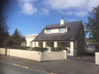 Ballygown Cottage set in the countryside with balcony views to the mountains