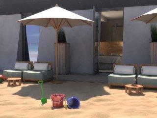 2-persoons Beachroom op het strand in Vlissingen