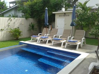 3 bed, private pool villa, lamai beach, ko samui